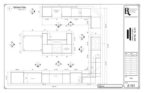 kitchen plans digital designs rivendell woodworks inc