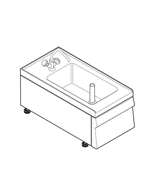 lavello 60 cm lavello dotato di vasca stata cm 29x40x20h 23 lt