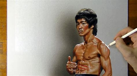 drawing bruce lee youtube