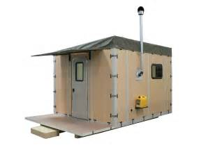 free small cabin plans modular shelter that can be assembled by 2 in
