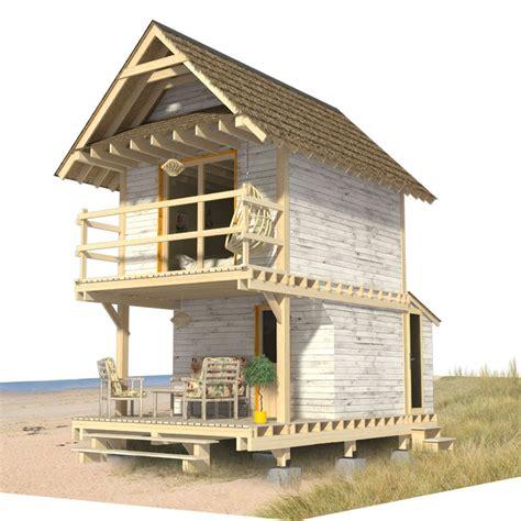 Small Beach Cabin Plans