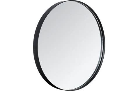 Grand Miroir Rond Grand Miroir Moderne Avec Cadre Rond Noir D 233 Co Design Pas Cher Sur Sofactory