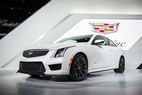 cadillac ats  coupe crystal white frost gm authority