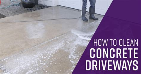 clean concrete driveways simple green