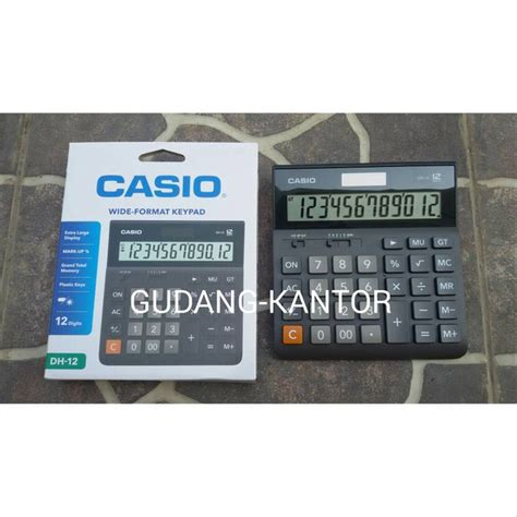 Jual Jual Diy Desktop jual jual casio dh 12 desktop kalkulator limited 20170708