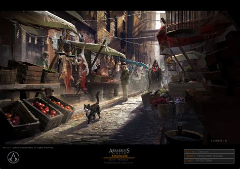 Assassins Creed Syndicate Concept Art By Fernando Acosta