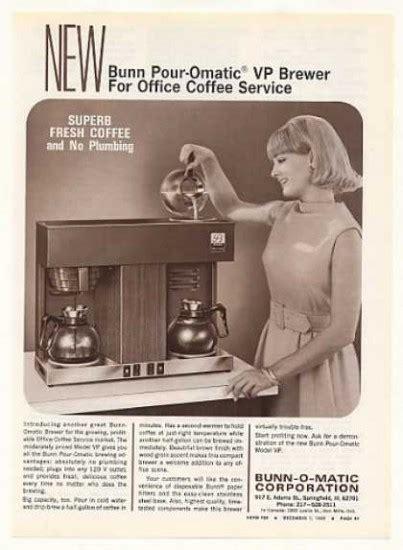 Feel the Bunn! The lore behind Bunn coffee products