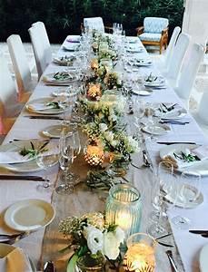 Tischdecken Für Lange Tische : tolle tischdekoration f r die lange tafel tischdekoration table decoration wedding ~ Buech-reservation.com Haus und Dekorationen