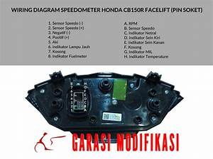 Wiring Diagram Speedometer Cbr 150