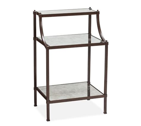 Etagere Table by Etagere Bedside Table Pottery Barn