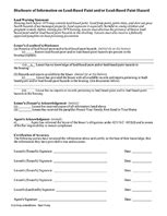 nyc lead paint disclosure form free landlord rental forms for real estate ez landlord forms