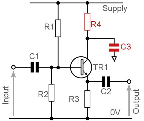 Emitter Follower Transistor Common Collector Amplifier