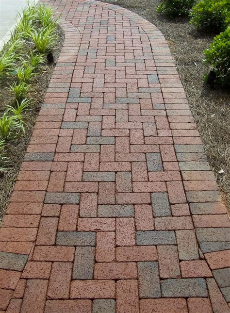 Keystone Brick Pavers by Rumbled Range Clay Pavers By Pine Brick Are