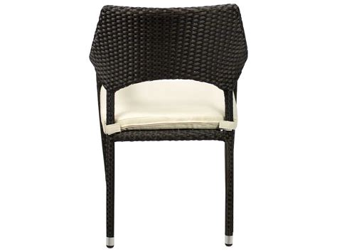 source outdoor furniture tuscanna wicker dining arm chair