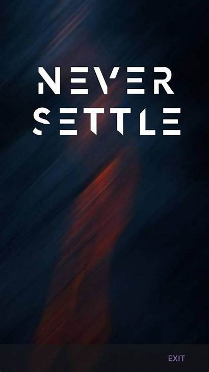 Oneplus Settle Never Wallpapers Screen Say Iphone