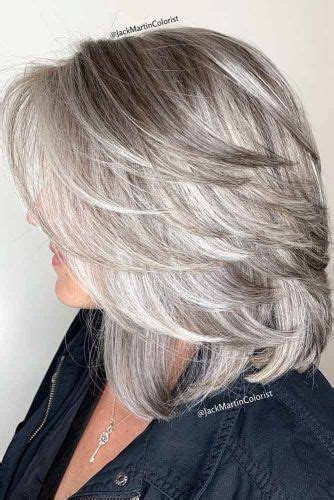 55 medium length hairstyles ideal for thick hair lovehairstyles