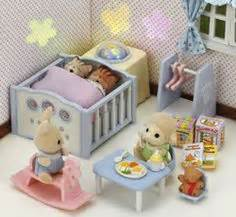 sylvanian families nightlight nursery set 1 1000 images about calico critters on fox baby