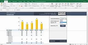 Price Comparison and Analysis Excel Template for Small ...