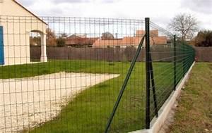 Grillage Soudé Gris : gamme poteaux aquigraf grillages wunschel ~ Melissatoandfro.com Idées de Décoration