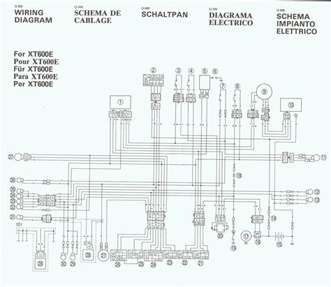 wiring diagram needed for 1990 xt600e horizons unlimited