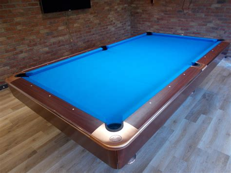American 9ft Pool Table Install Re Rubber And Cover Near