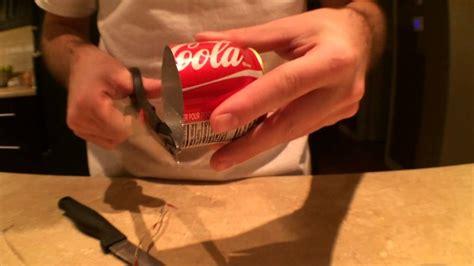 comment cuisiner une canette comment faire un bruleur avec une canette