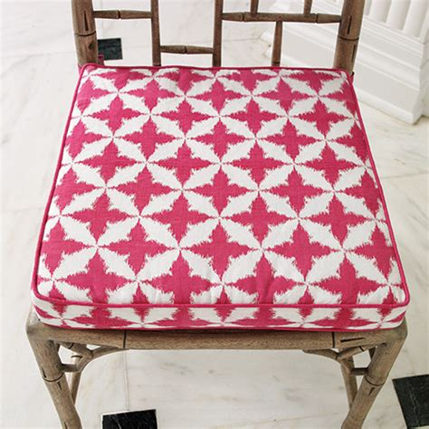 solitaire seat cushion fuchsia contemporary seat
