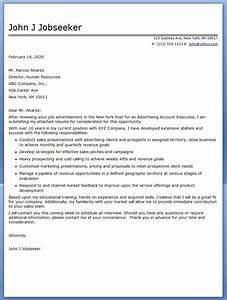 advertising account executive cover letter sample With account manager cover letter examples for recruiters