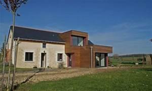 Extension Maison Ancienne : extension ossature bois d 39 une maison ancienne par ~ Louise-bijoux.com Idées de Décoration