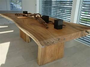 table salle a manger noyer massif 11 table en bois With table salle a manger noyer massif