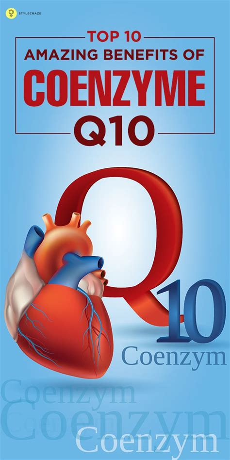 Top 10 Amazing Benefits Of Coenzyme Q10  The O'jays, Health And Overalls