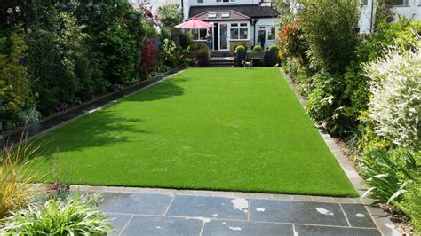 Artificial Grass Lawns For Back Gardens