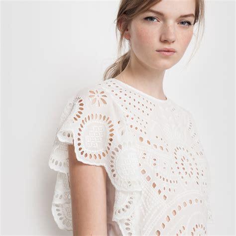robe blanche courte boheme robe blanche courte avec broderie style boh 232 me tendance