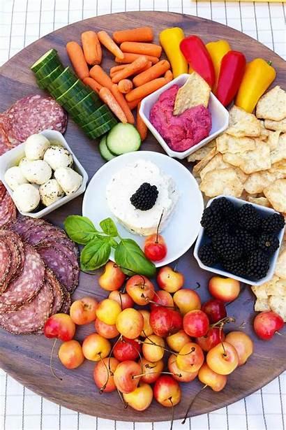 Charcuterie Board Mini Summer Cheese Cured Fresh