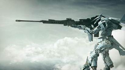 Mech Wallpapers Mecha Sniper Spaceships Cgi Battles