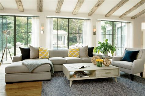 designed  jeff lewis spring  catalog contemporary living room los angeles