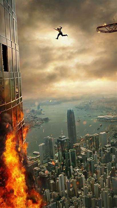 Skyscraper Movies Film Poster Wallpapers Trailer Rise