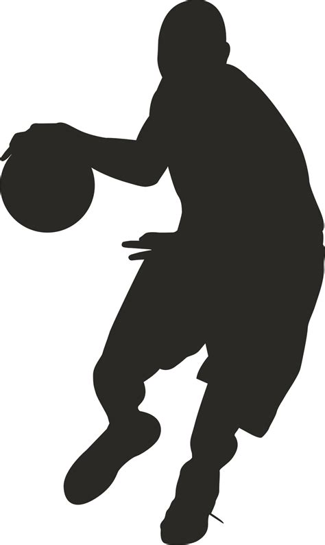 basketball player clipart black and white basketball player clipart clipart panda free