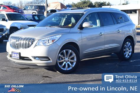 Buick Enclave 2014 Used by Pre Owned 2014 Buick Enclave Premium Suv In Lincoln