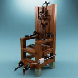 Mckinley Chair by Florida Death Row Inmate Demanding The Electric Chair