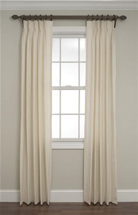 Pinch Pleated Draperies by Calico Pinch Pleated Drapes