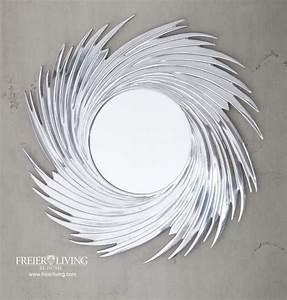 Designer Wandspiegel Groß : wand spiegel wandspiegel designer runder art deco impressionen bad wc abstrakt ebay ~ Orissabook.com Haus und Dekorationen
