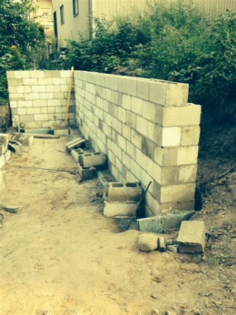 backfill retaining wall ot backfilling retaining wall