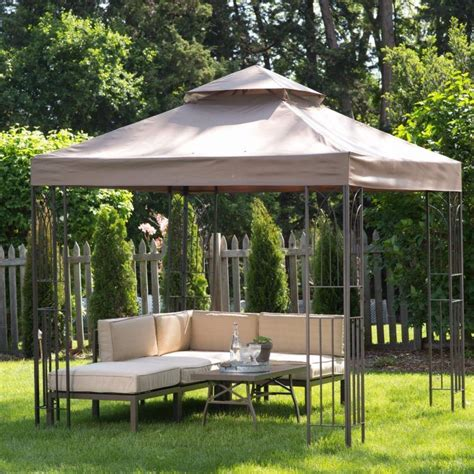 Backyard Canopy Gazebo by 20 Beautiful Yards With Outdoor Canopy Designs