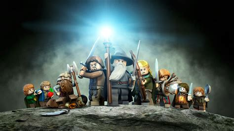 lego  lord   rings  video game wallpaper