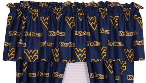 West Virginia Printed Curtain Valance