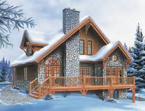 Chalet Home Designs by Superb Four Season Chalet Drummond House Plans
