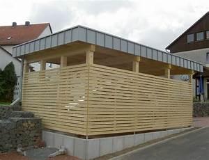 Carport Dach Holz : carport mit holz verkleiden ~ Sanjose-hotels-ca.com Haus und Dekorationen