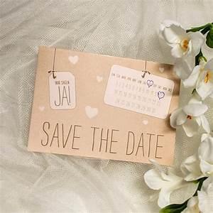 Save The Date Karte : save the date karte ja in kraftpapieroptik ~ A.2002-acura-tl-radio.info Haus und Dekorationen