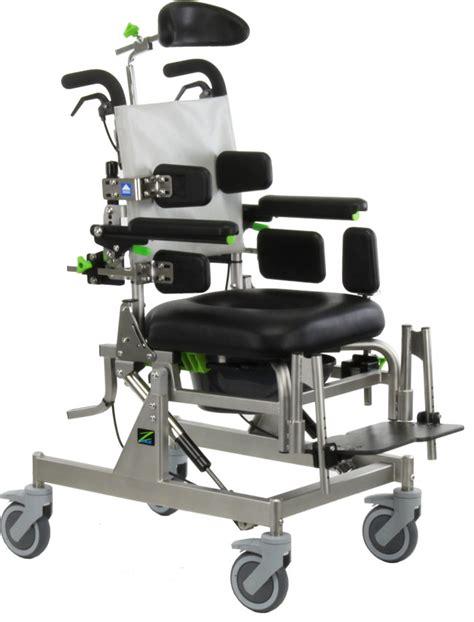 raz cat compact attendant tilt rehab shower commode chair